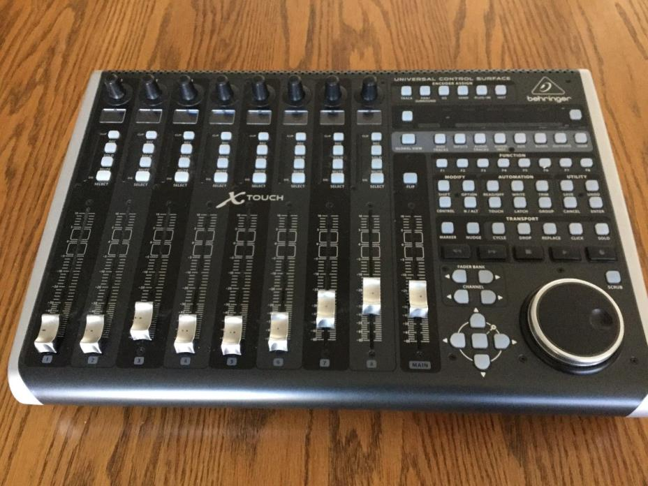 Behringer X-Touch Universal USB DAW Control Surface w/ MotorFaders ~Barely Used~