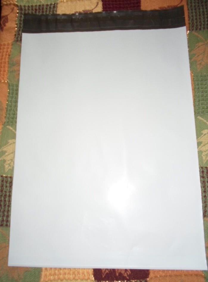 25 Poly Bag Postal Mailing Envelopes  4X6 5x7 9X12 FAST SHIP