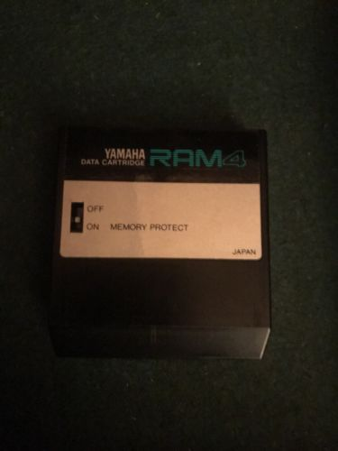 YAMAHA RAM4 Memory Data Cartridge for TX802 DX7 RX5 RX7