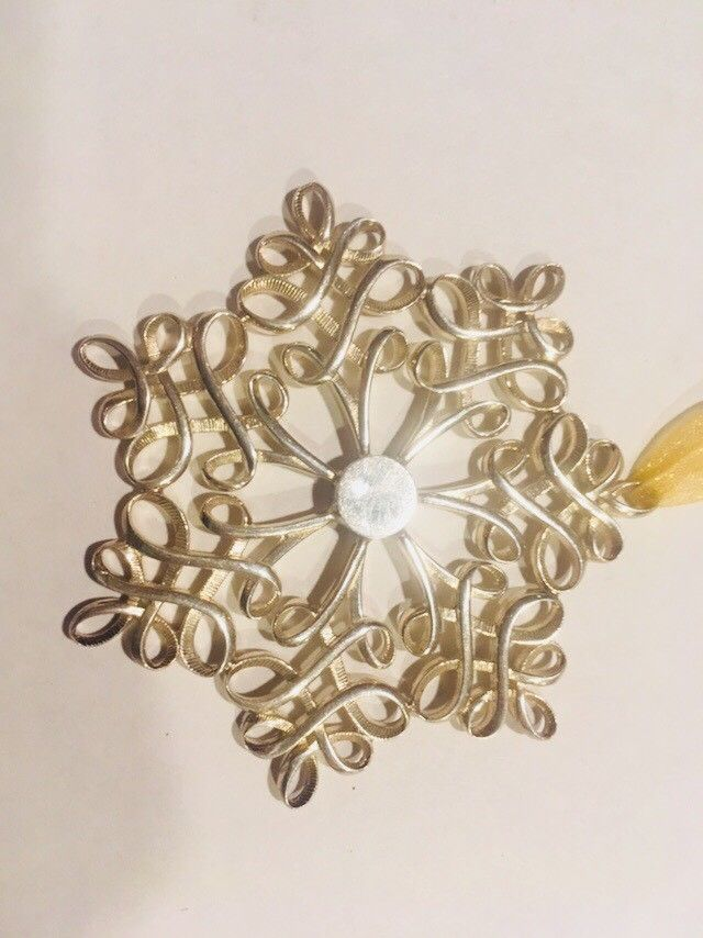 Tiffany & Co Sterling Sivler 925 Christmas Ornament Snowflake