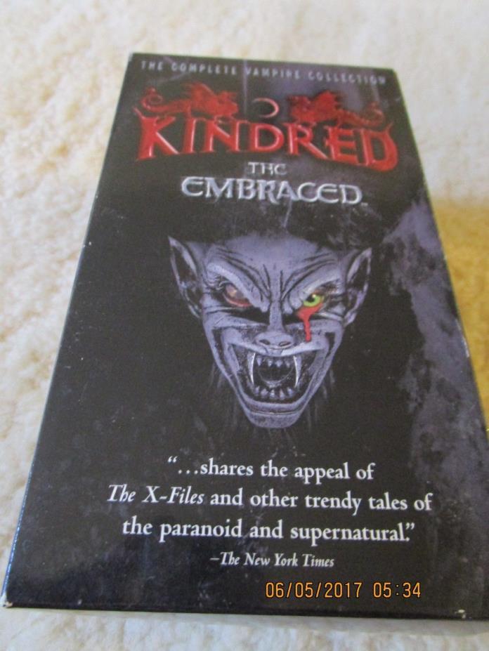VINTAGE KINDRED HORROR MOVIE VHS TAPE RARE OOP  set of 3