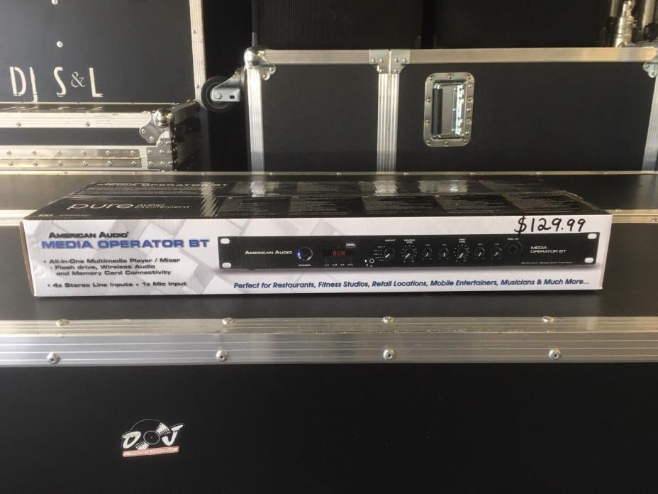 American Audio Media Operator BT