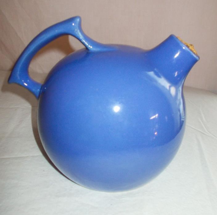 Small Blue Crock Jug Estate Sale Find!