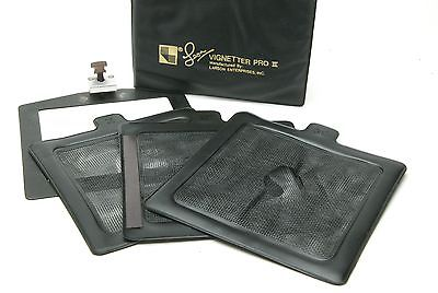 Pack Of 3 Larson Enterprises Black Vignettes PRO II 5,5 x 5,5
