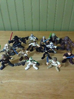 Collectible Hasbro Star Wars Miniature Action Figures