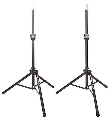 Ultimate Support TS90B TeleLock Speaker Stand BLK (PAIR)