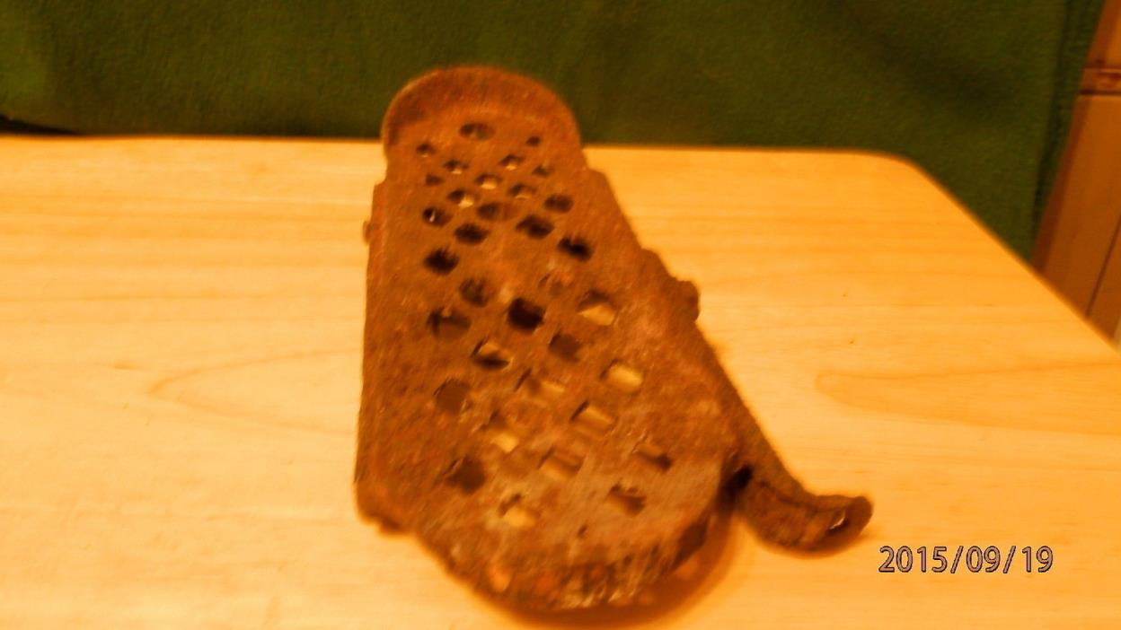 Vintage Rusty Foot Pedal for Sewing Machine