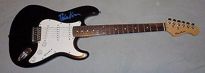 PETER FRAMPTON SIGNED ELECTRIC GUITAR IN PERSON DO YOU FEEL LIKE I DO HUMBLE PIE