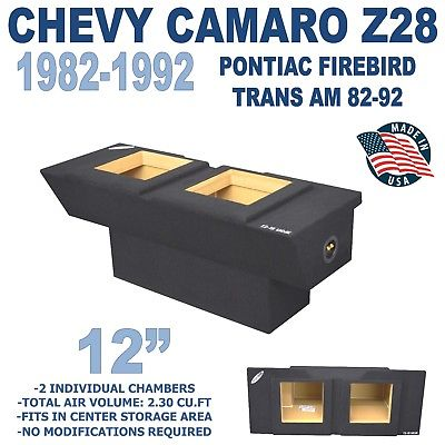 CHEVY CAMARO SUB BOX & PONTIAC FIREBIRD SUBWOOFER ENCLOSURE / SUBWOOFER BOX