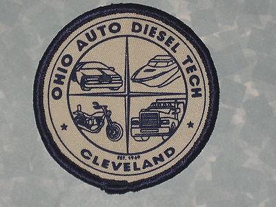 Ohio Auto Diesel Tech Patch - Cleveland - vintage - trucks - 3