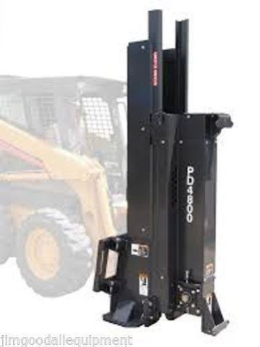 Post Driver for Skid Steer Loaders,Fits all Models & All Brand Skid Steers