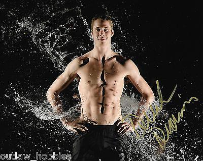 Derek Drouin Canada Olympic  High Jump Autographed Signed 8x10 Photo COA B