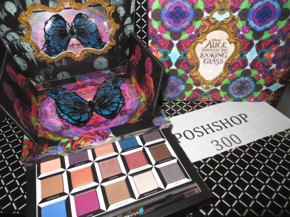 URBAN DECAY  ALICE THROUGH THE LOOKING GLASS  PALETTE FREE PRIORITY SHIPPING!!