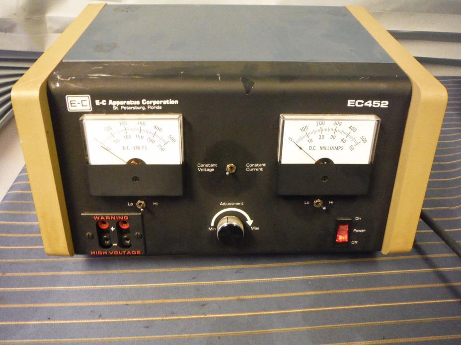E-C Apparatus EC452 Electrophoresis Power Supply