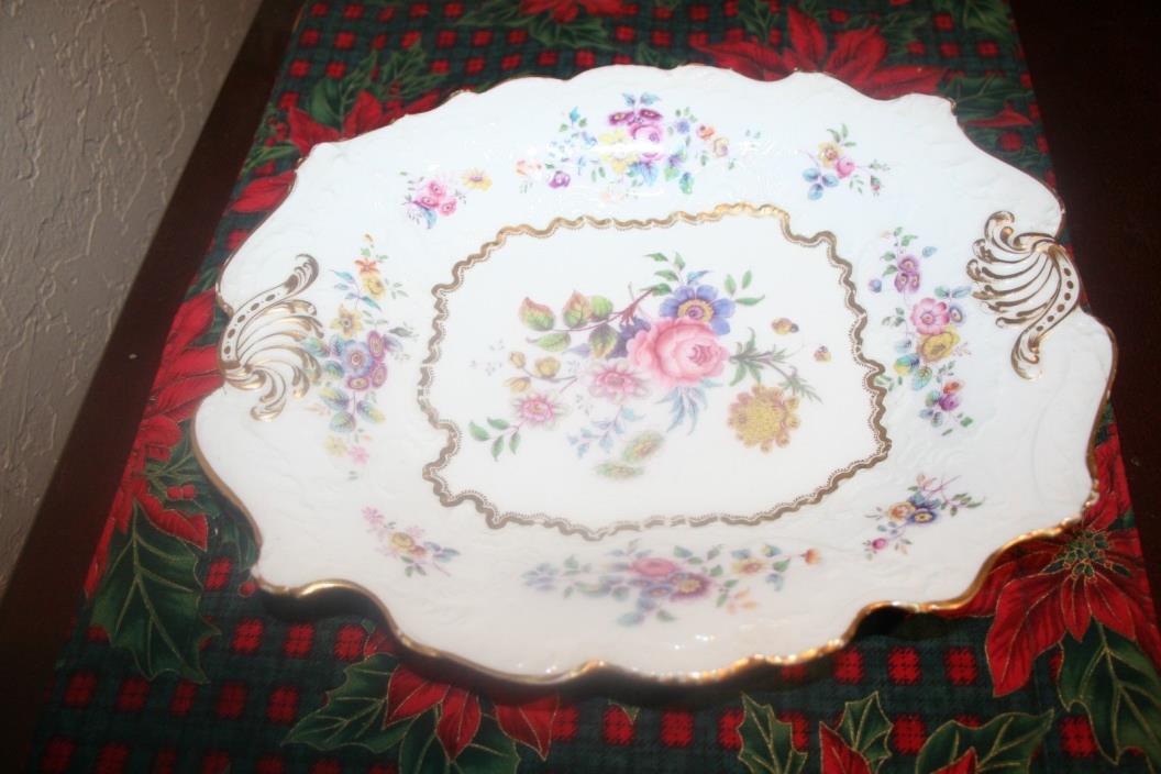 Beautiful vintage Old Paris Ornate Serving Dish/Platter Unmarked