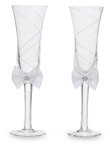 Wilton Wedding Toasting Glasses/Champagne Flutes