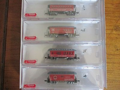 Roadhouse Pacific Electric 4 Pk Ready To Run N Scale #89462