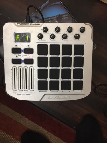 M-Audio Trigger Finger - 16 MIDI Drum Control Surface with USB Cable