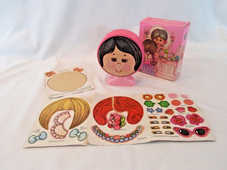 Vintage AVON 1982 Maria Makover Non Tear Shampoo - Paper Doll
