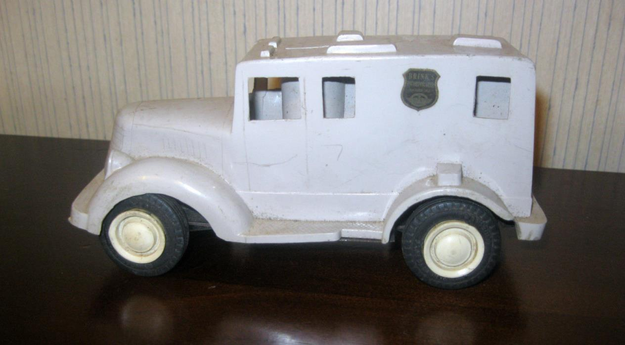 Vintage Wyandotte Toys Friction Brinks Armored Truck Bank