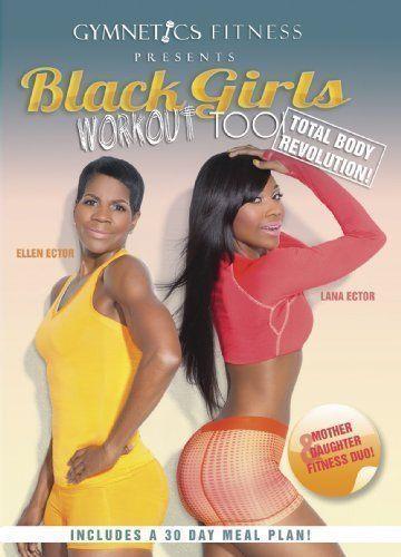 BRAND NEW SEALED  Gymnetics Fitness Presents Black Girls Workout Too