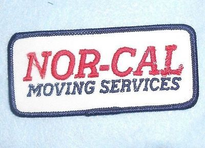 Nor-Cal Moving Services Patch - 4 1/2