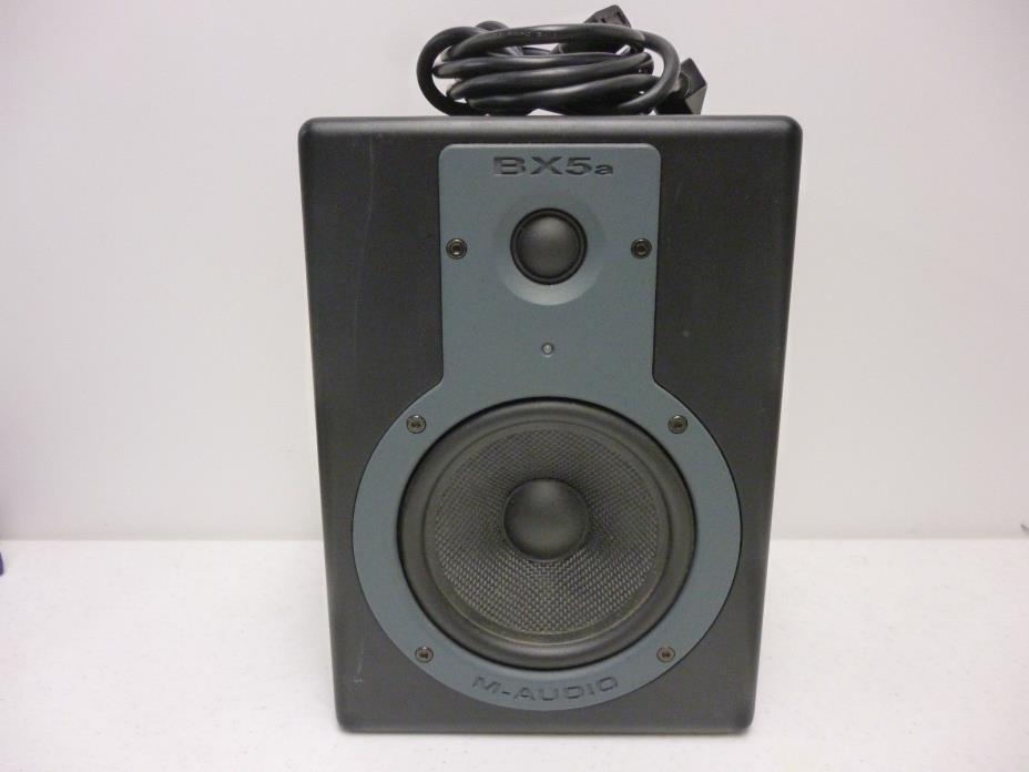 M-Audio Studiophile BX5a Deluxe 70W Bi-amplified Studio Reference Monitor