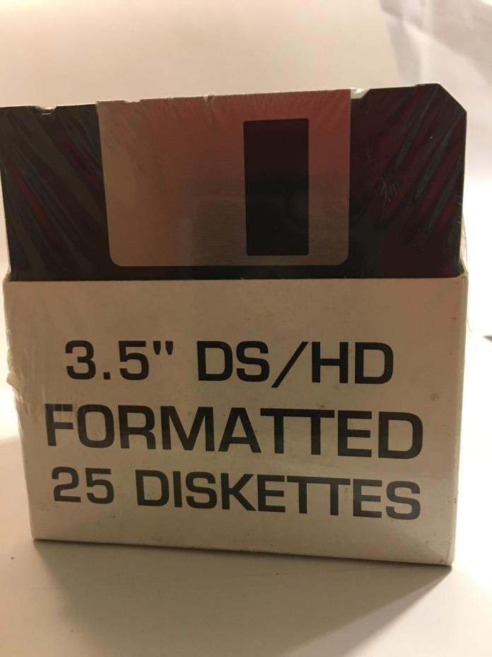 Ibm Formatted 3.5 Ds hd Formatted 44 Total Diskettes 1.44 MB 2 Packs