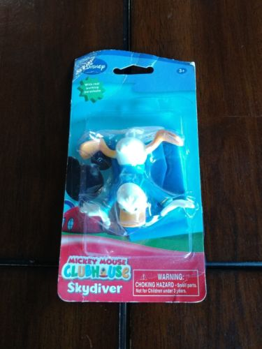 ©Disney Mickey Mouse Clubhouse Club House Donald Duck Real Parachute Skydiver 2