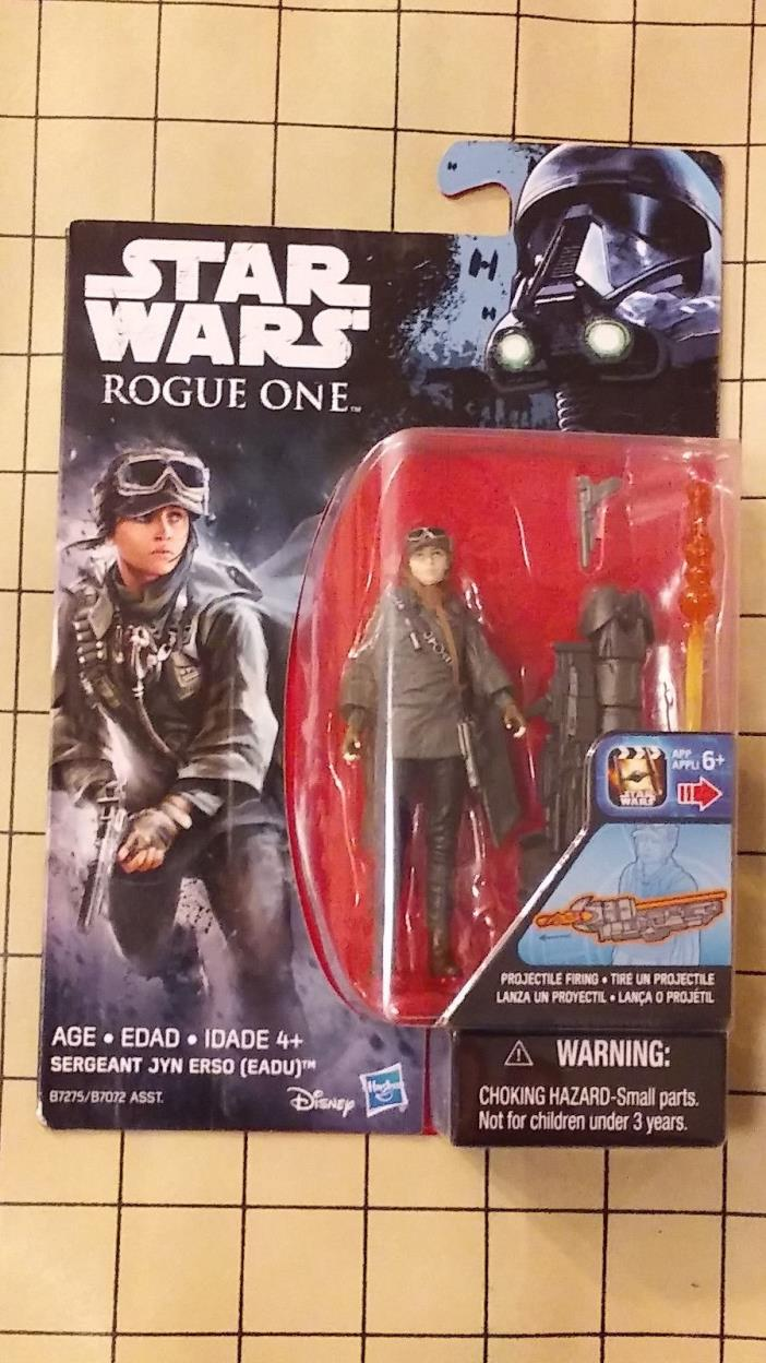 Disney Rogue One: A Star Wars Story - Sergeant Jyn Erso Action Figure