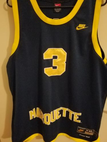 Dwayne wade marquette jersey XXL Nike Heat Bulls NBA