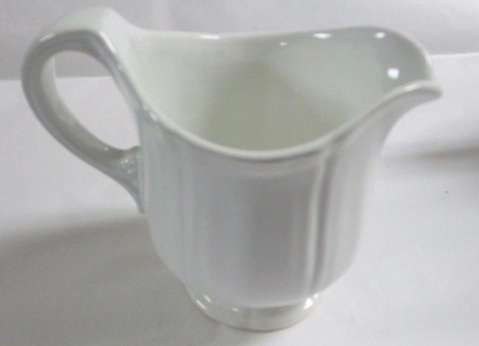 Vintage White Porcelain Creamer