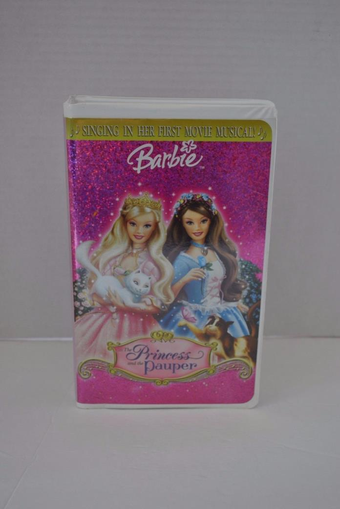Barbie as The Princess and the Pauper [VHS] 2004