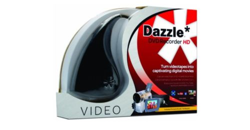 Dazzle DVD Recorder HD VHS to Converter Mix