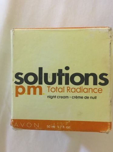 AVON Solutions P.M. TOTAL RADIANCE Night Cream