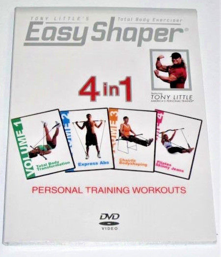 Tony Little's Total Body Exerciser: Easy Shaper 4 in 1 DVD New/Sealed