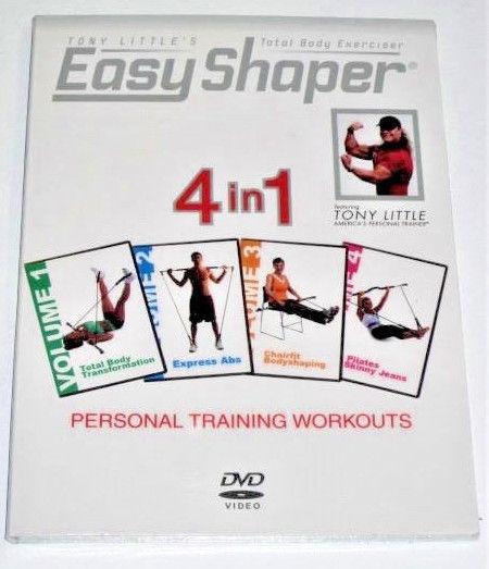 Tony Little's Total Body Exerciser: Easy Shaper 4 in 1 DVD New/Sealed