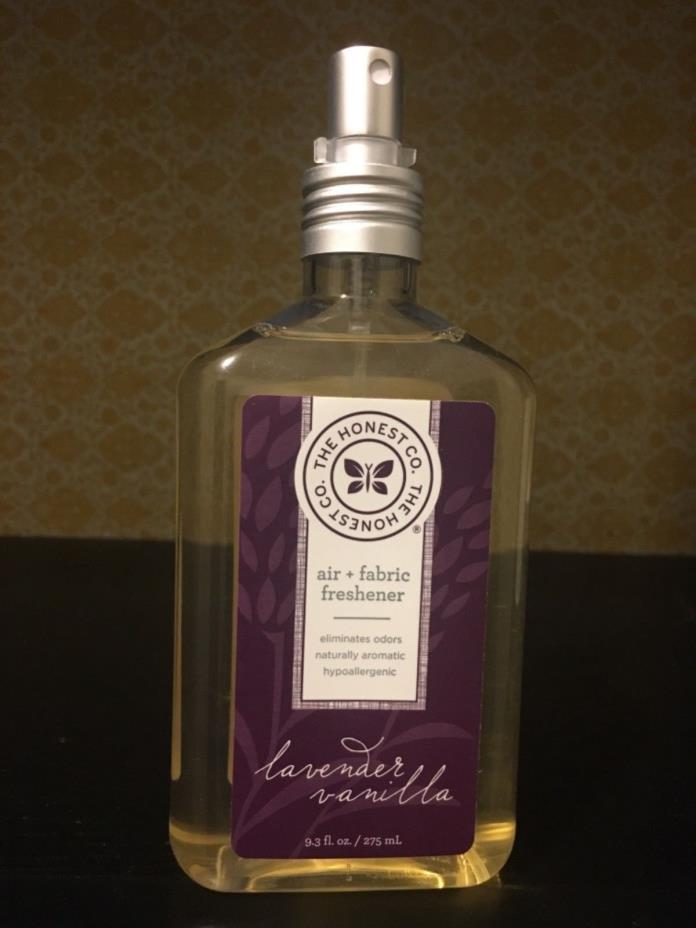 Honest Company Air and Fabric Freshener Lavender Vanilla 9.3 oz