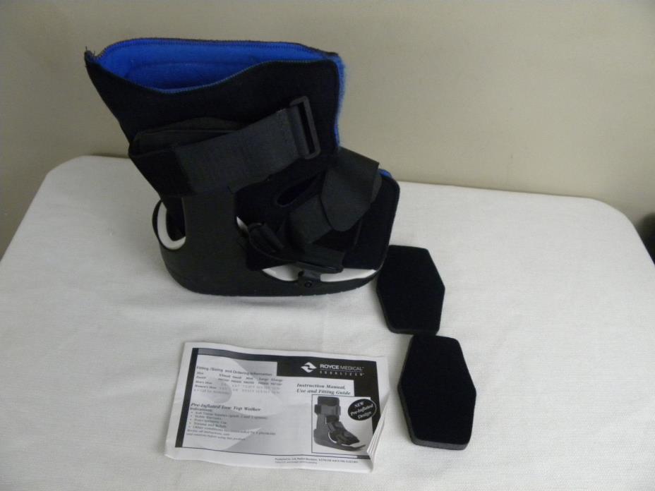 Royce Medical Walker Brace Equalizer Ankle Boot Brace SMALL (NEW DESIGN)