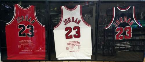 Michael Jordan Autographed Upper Deck Jersey Collection UDA Signed Framed