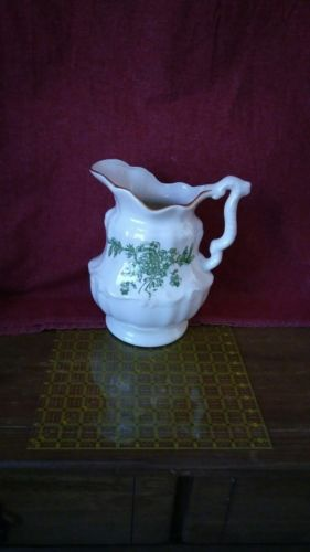 Vintage Iron Ware water pitcher no bowl