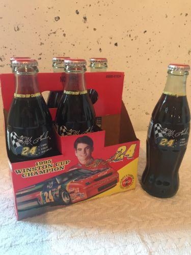 Coke Bottle Full: Jeff Gordon 1995 Winston Cup Champion 6-Pack