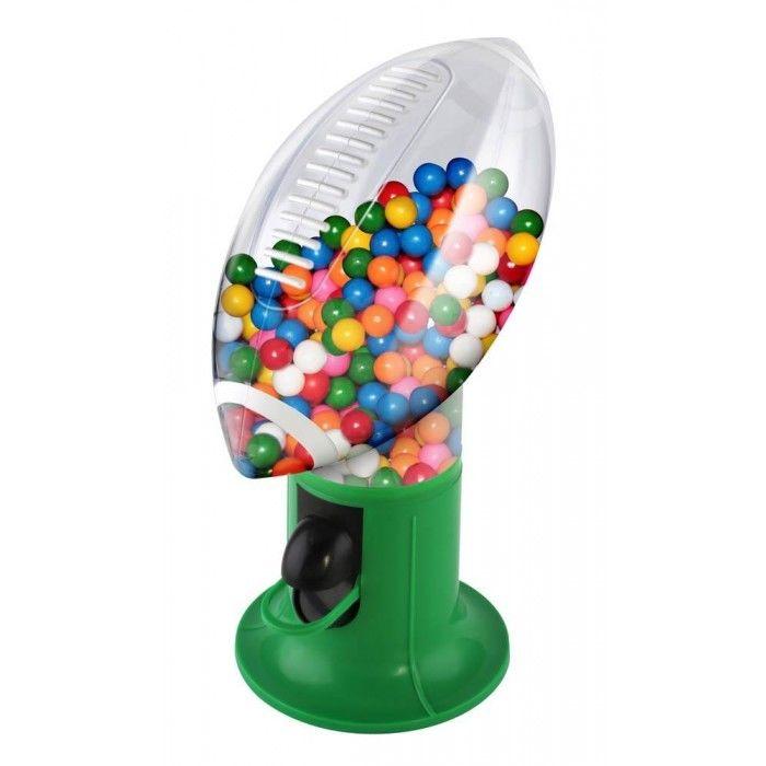 Touchdown Fun Snack Football Dispenser With Sound Cheers Gum Balls Trail Mix M&M