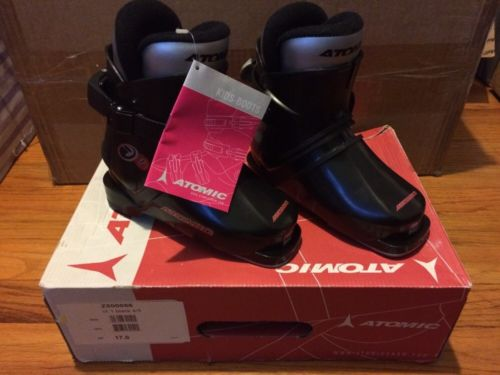 NEW! Atomic Ski Boots (iX1 Black)! Youth size 9! Free Shipping!
