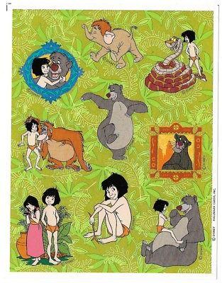 VINTAGE Hallmark Stickers - Disney - The Jungle Book
