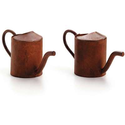 Timeless Miniatures Rusty Watering Cans 2/Pkg 652695165849