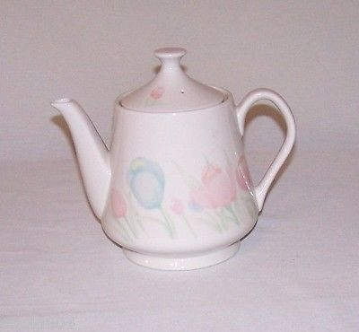 TWILIGHT TULIP BY SELTERA 1987 TEAPOT MADE IN JAPAN