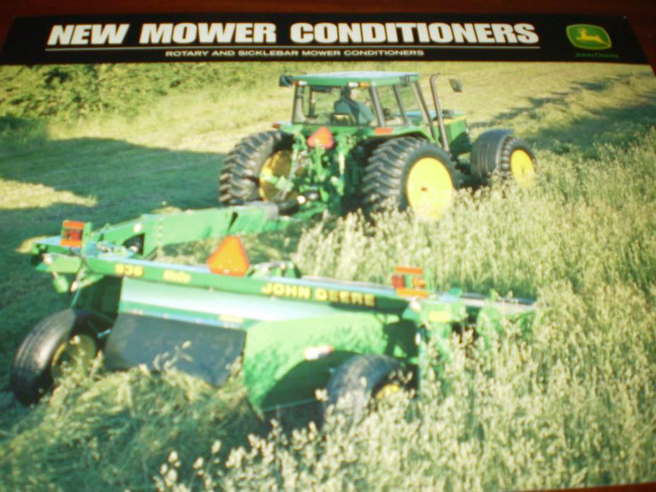 John Deere Mower Conditioners Sales Brochure