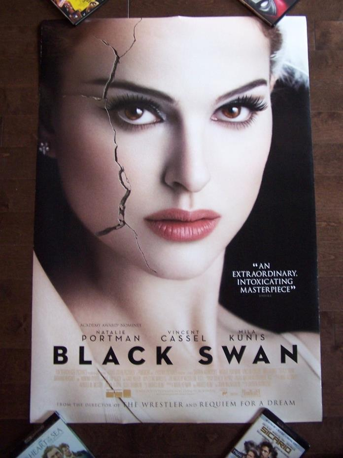 BLACK SWAN  NATALIE PORTMAN  original cracked face style f  D/S  INT'L 1sh