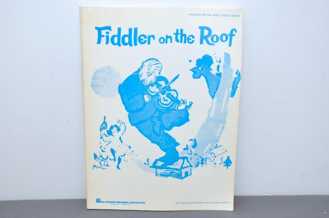 Fiddler on the Roof Vocal Score Paperback – 1965